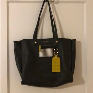 Henri Bendel Influencer Tote w/Novelty Bag Strap